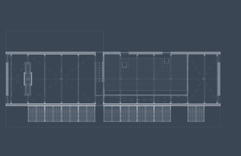 Mountain House - Loft Floor Plan