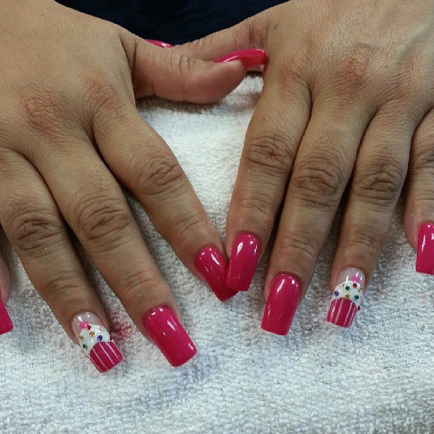 #Cupcakenails #nails #nailart #naildesigns #nailtime