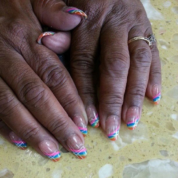 #prettynails #oleisurenails #nailart #nailtime #naildesigns #nails #rainbownails