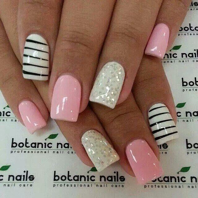 #love these #nails #naildesign #nailtime #nailart #nailpolish #nails2inspire #nailsoftheday #nailstagram