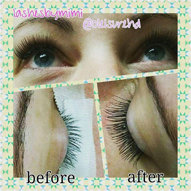 Another 1st time #eyelashextensions experience! Thank you @laura_ashleigh87 for coming in today. #LOVE your #lashes! 💞 #firsttime #beautiful #amazinglashes #sandiegolashes #chulavista #nationalcity #sandiego  #beauty #beautysalon #esthetician #lashartist #lashextensions #oleisure