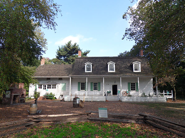Lefferts House Built 1783