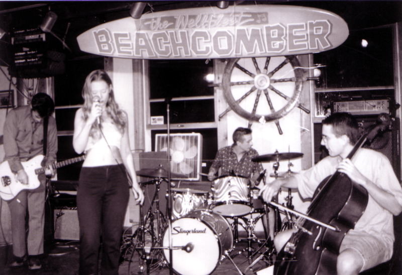 Betwixt at the Beachcomber in Wellfleet, c 1998