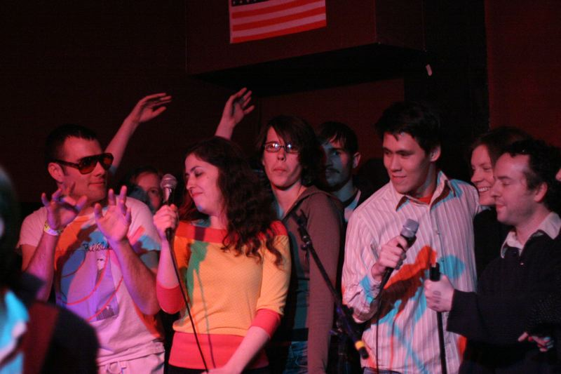 Freezepop Karaoke Party, Bill's Bar, Boston, c 2004