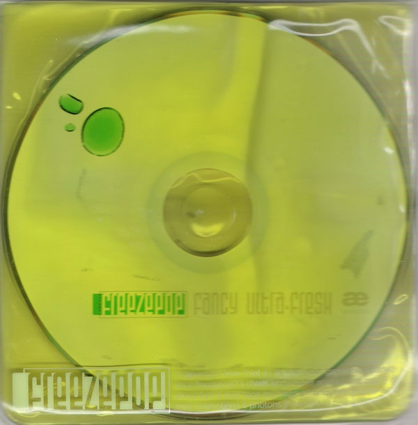 Arch 23 Ltd - Freezepop - Fancy Ultra Fresh - Limited Edition CD