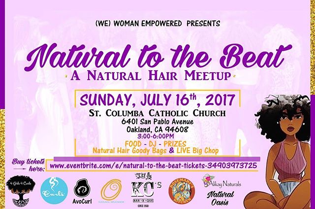 So ladies are you ready for a big chop or stylish cut?! Have you been searching and can't find a stylist to do one? Or you're a little hesitant and need some sistafriend support to make that leap?! Well here's the tea sis...we are giving away a free, yes FREE big chop/cut at Natural to the Beat! Here's how to enter:  Step1: Follow @4girls4curls and @wemovement.sfbay  Step 2: Share a brief version of your natural hair journey and why you should win this opportunity.  Please either DM or send responses to 4girls4curls@gmail.com.  The contest entry cut off will be Tuesday, July 11th and we will announce a winner Friday July 14th. Please note: You must be available on July 16 between 3-6pm as the cut will happen at the event! Good luck and see you there! #naturalhair #bigchop #contest #bayareaevents #supportnaturalhairbusinesses