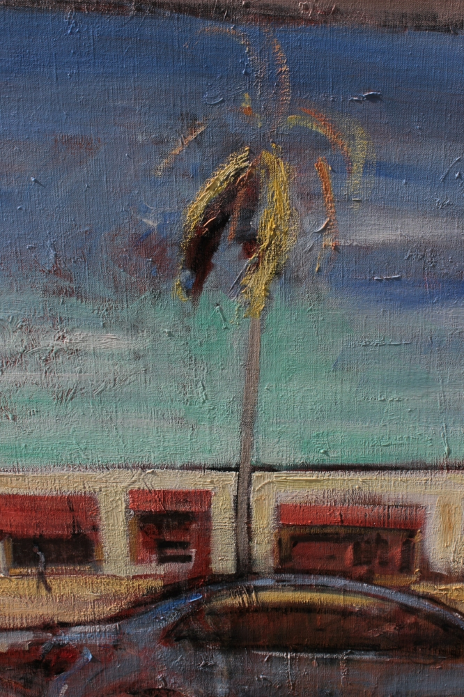 the palm tree - detail