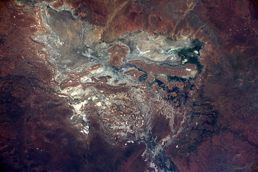 Inspiration : Terre vue depuis l'espace / Australie Résidence de Création BALLET DU NORD du 20/02/2017 au 5/03/2017 Credit :Credits: ESA/NASA- 139D1780 Thomas Pesquet
