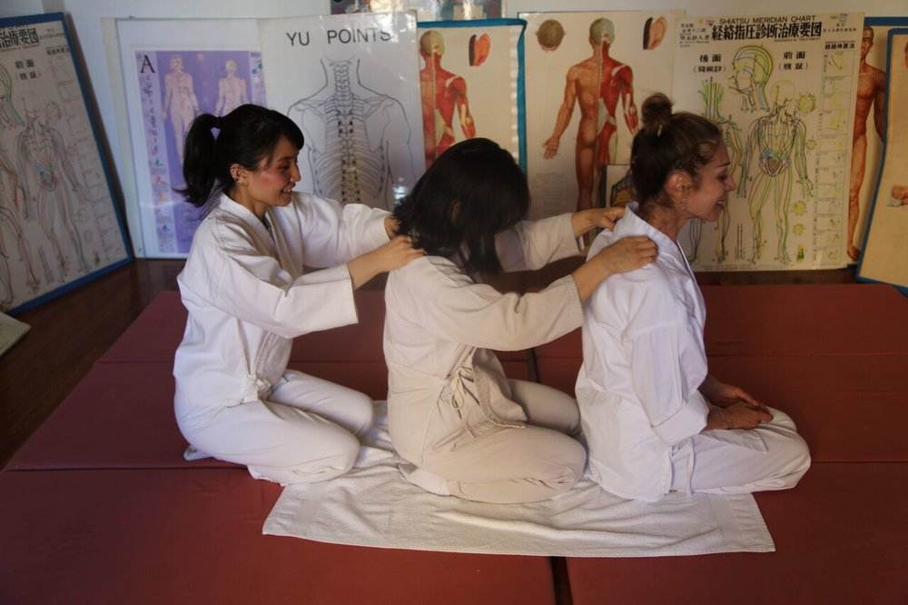 Teacher training program to share the love of Shiatsu