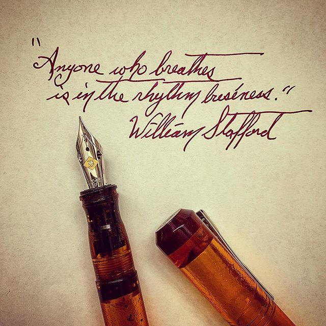 #longlivepoetry #spokenwordpoetry #warrenwilsonmfa #fountainpengeeks #cigaraficionados #diamineink #cursivehandwriting #williamstafford #poetryischurch #rhythm #music #poetryisart #sarabandebooks #poetrycommunity #deadpoetssociety #literature #journaling #creativewriting #ritsospoetry #diamineink #notebooks #thewriterslife #iowawritersworkshop