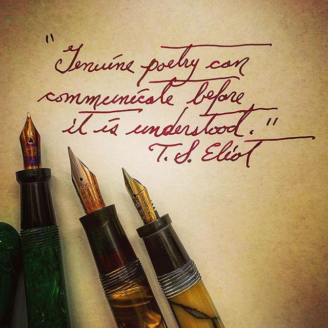 #americanpoetryreview #jounaling #poetryisart #poetry #vintagefountainpen #cursive #handwriting #communication #poet #poetryischurch #spokenwordpoetry #tseliot #literature #lovesongofjalfredprufrock #diamineink #notebooks #thewritinglife #poetsofinstagram #lovetoread #instapoet #instapoem #instapoetrycommunity #journaling #deadpoetssociety #modernpoetry