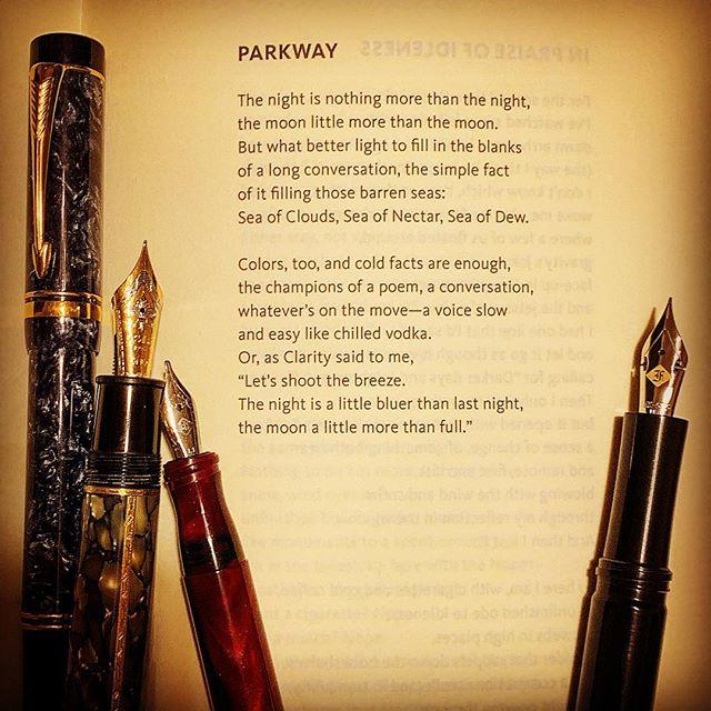 A poem by Paul Violi from his book, Likewise. #paulvioli #warrenwilsonmfa #night #themoon #surrealistpoetry #poetryischurch #longlivepoetry #deadpoetssociety #poetry #poetrycommunity #cigaraficionados #fountainpen #gouletnation #notebook #journaling #book #lovetoread #lovetowrite #thewritinglife #spokenwordpoet #ritsospoetry #yannisritsos #librariesofinstagram #poetryisart #iowawritersworkshop @beckyfink #poems #modernpoetry #awp2019 #awp19 @esavandusen