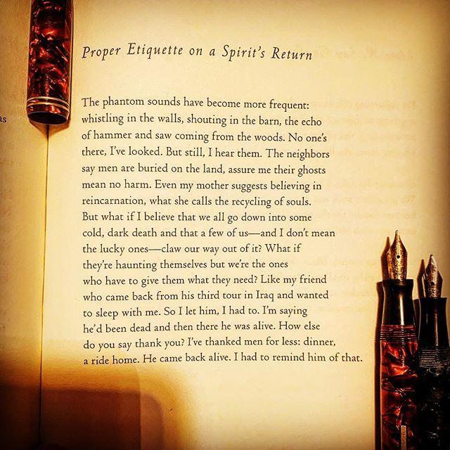 A poem by Keetje Kuipers from her book, Beautiful in the Mouth, BOA Editions. #awp19 #poetryisart #ritsospoetry #fountainpen #notebook #warrenwilsonmfa #poetryischurch #etiquette #spokenwordpoetry #cigaraficionado #literature #buythisbook @esavandusen #longlivepoetry #boaeditions #thewritinglife #literature #lovetoread #lovetowrite #poetrycommunity #instapoets #instapoetsociety #poetrycommunityofinstagram #poems #poem #library #ritsospoetry #federicogarcialorca #duende #poetryisnotdead #notebooks #journaling #keetjekuipers