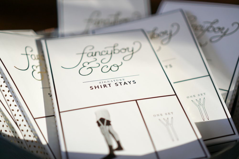 fancyboy shirt stay packaging