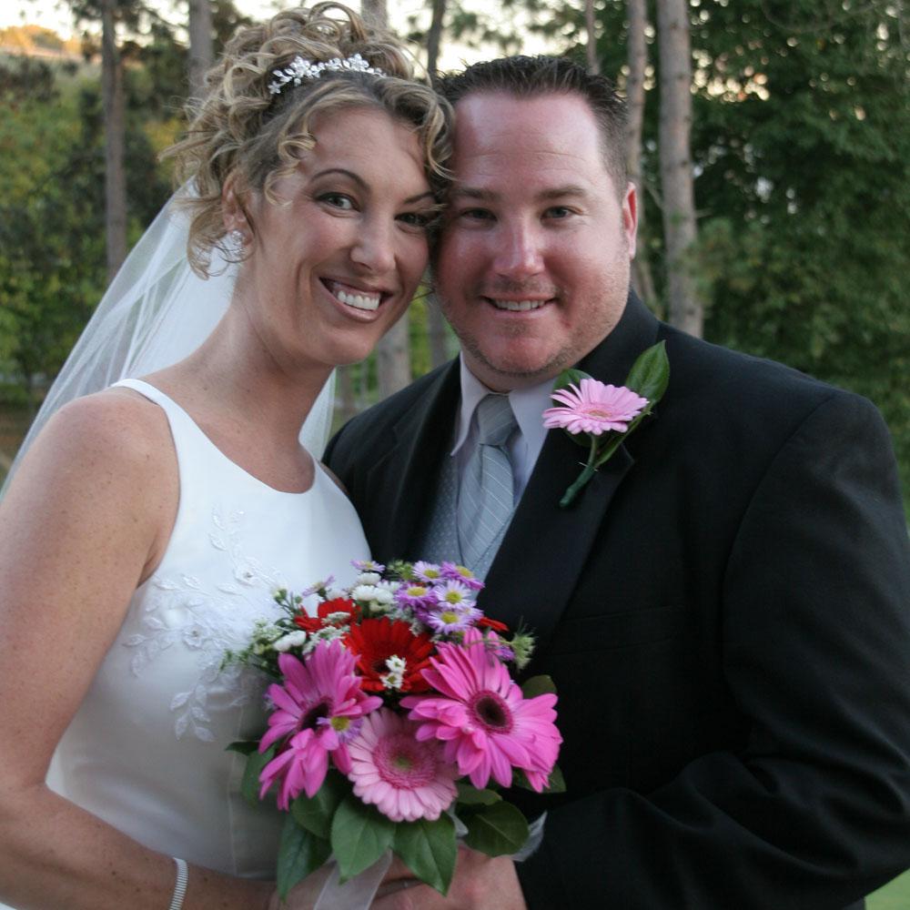 2005-09-30 Denise & Jason VonLinsowe.jpg