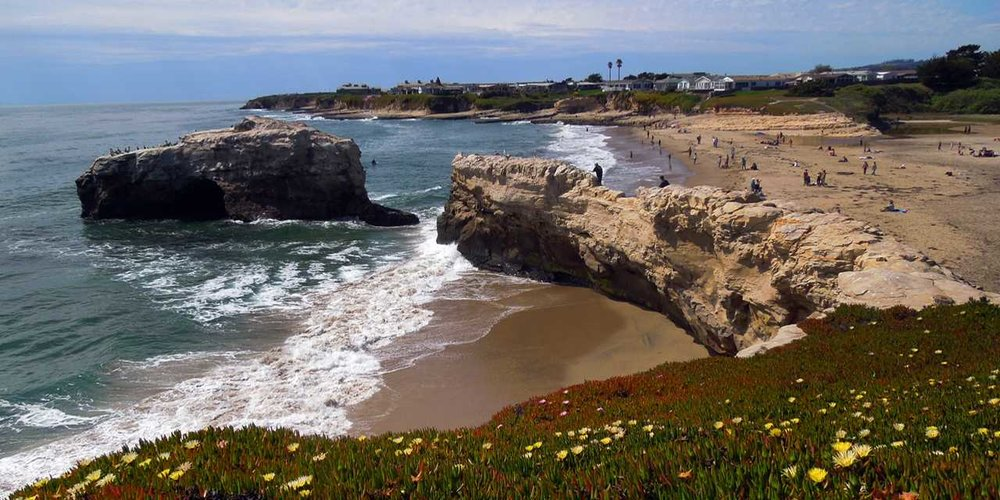 Natural Bridges State Beach, Santa Cruz CA