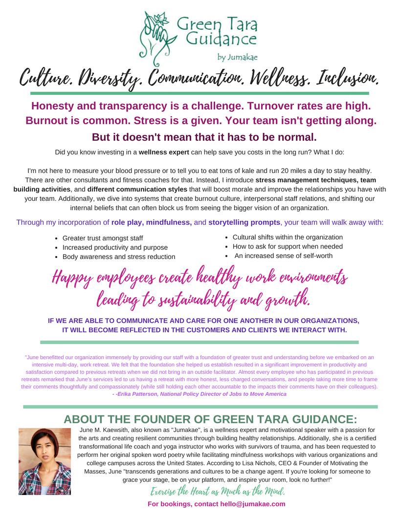 Green Tara Guidance (Services)