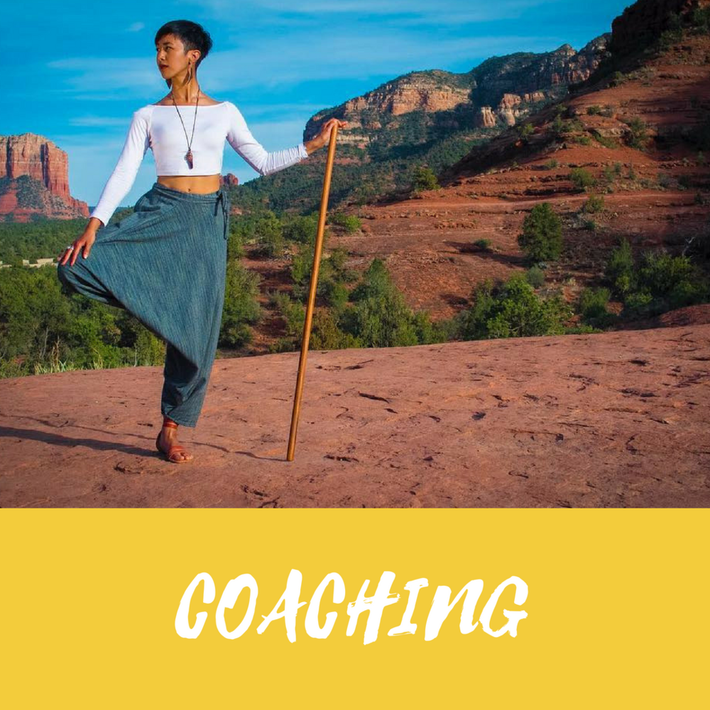 Rewiring old stories that no longer serve you. Healing your throat chakra to express your gifts and share your story medicine. Professional certified life coach supporting you on creating clarity on your soul purpose.  Fill out an application!