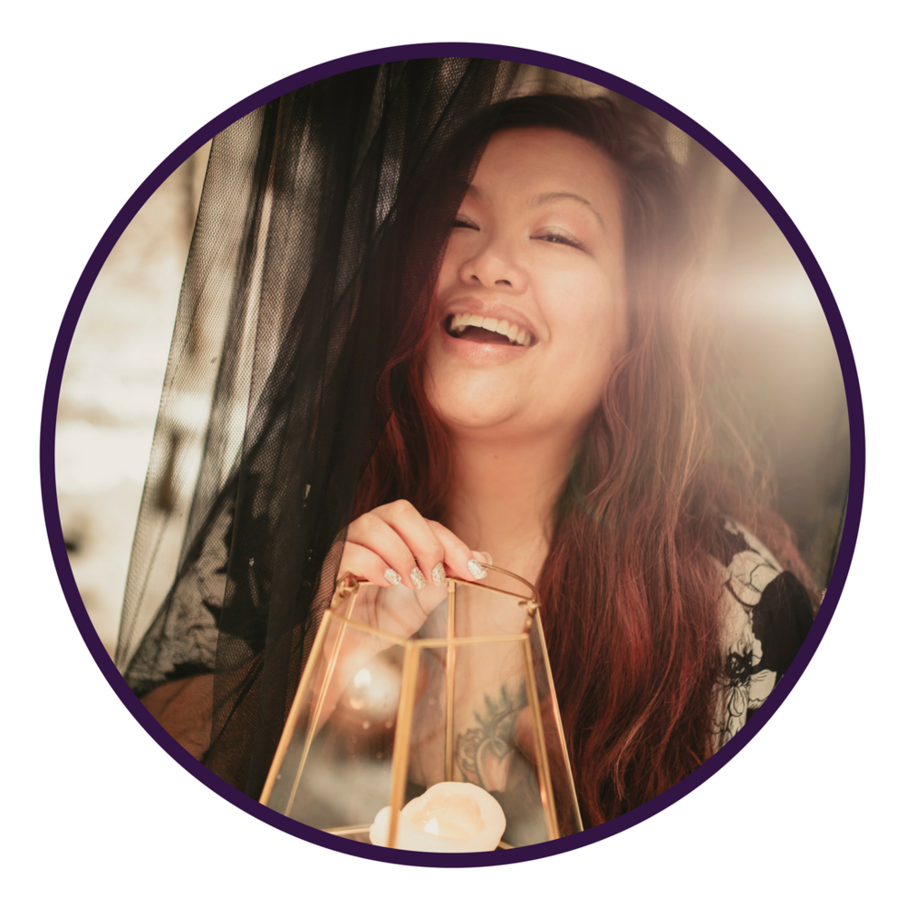 """DAY 6 - OCTOBER 9 LARA-ROSE DUONG   The Modern Money Witch  """"Heart Economy As Healing"""""""