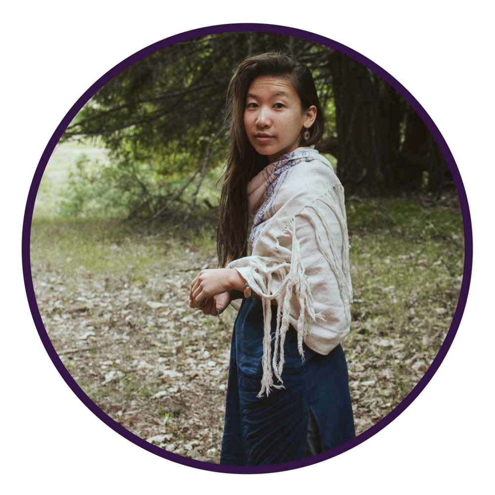 "DAY 4 - OCTOBER 5 CHARLOTTE NGUYỄN   Meditation Teacher, Spiritual Advisor, Activist  ""ReWriting the Future: Radical Transformation"""