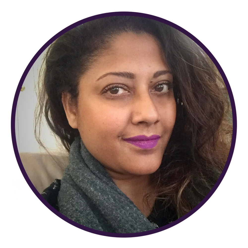 "DAY 13 - OCTOBER 18 SONALI FISKE   Leadership Mentor for Black, Indigenous, Women of Color Leaders  ""Taking Up Space"""