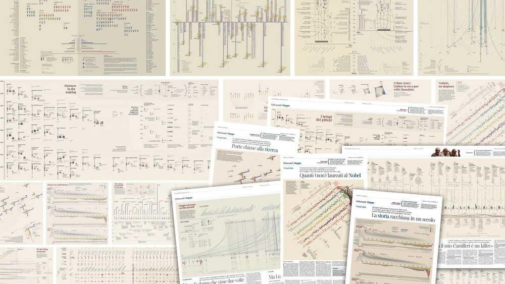 "The Architecture of a Data Visualization: Multilayered Storytelling through ""Info-spatial"" Compositions"