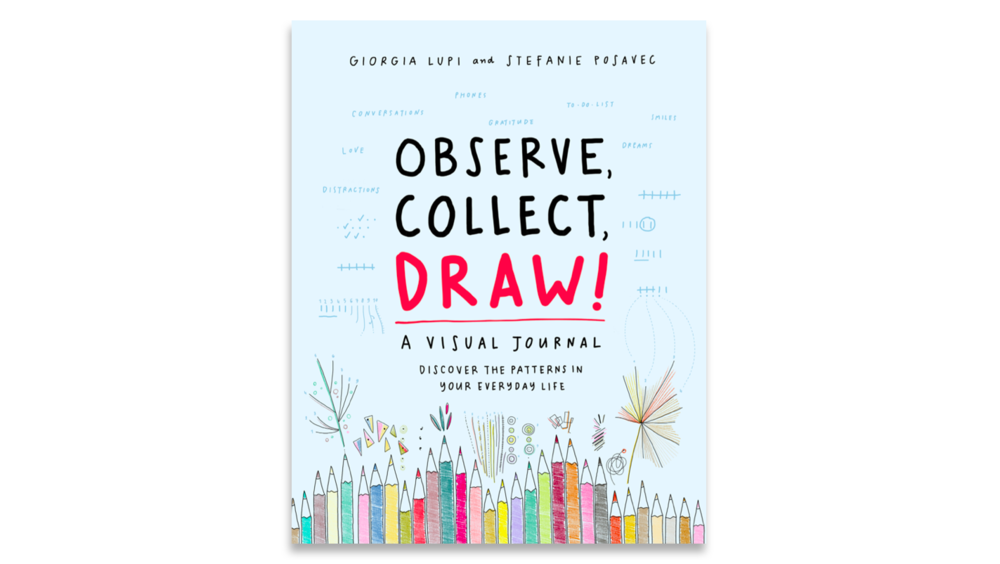 OBSERVE, COLLECT, DRAW!  - A Visual Journal for obsessive and curious minds