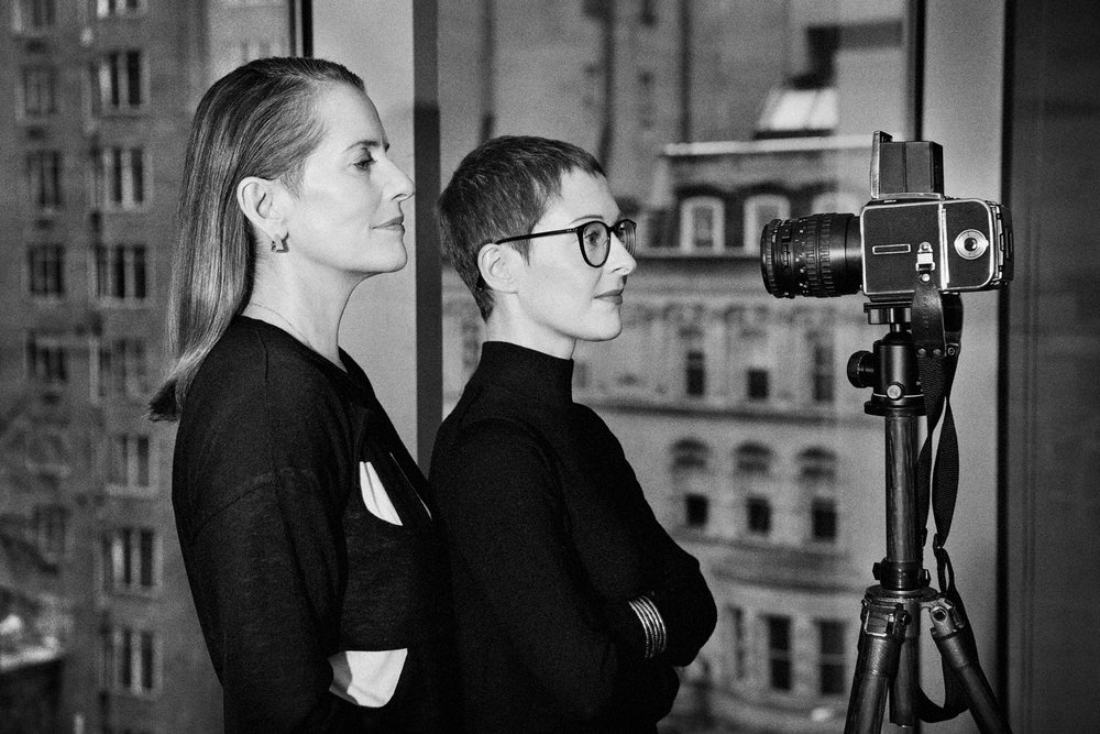 """from """"the Vogue Conversation Data Drang"""" with Paola Antonelli - ph: Max Vadukul"""