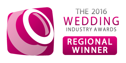 Wedding Industry awards Regional Winner 2016