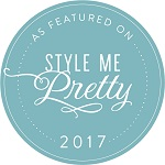 As Featured on Style me Pretty 2017