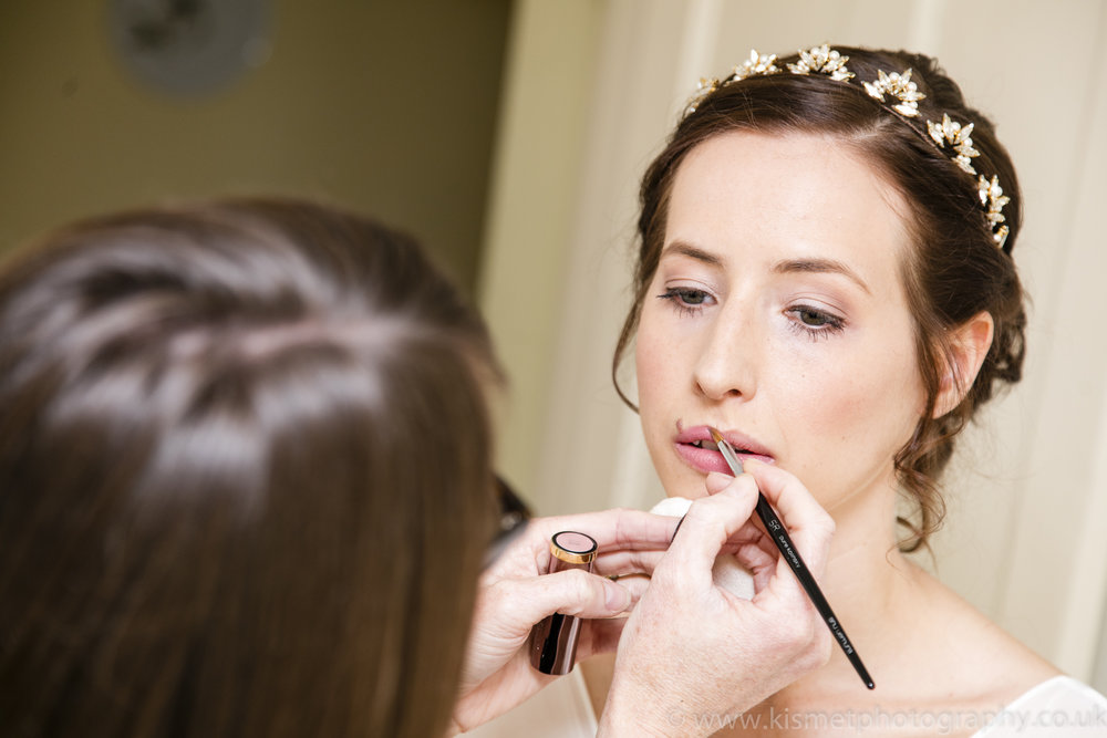 makeup and hair for real bride Alice wearing Lotus tiara (19).jpg