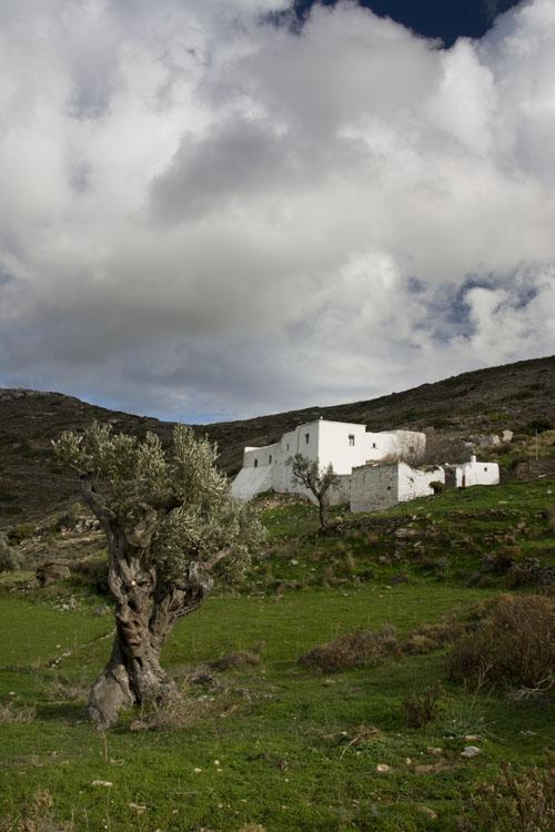 Inland monastery