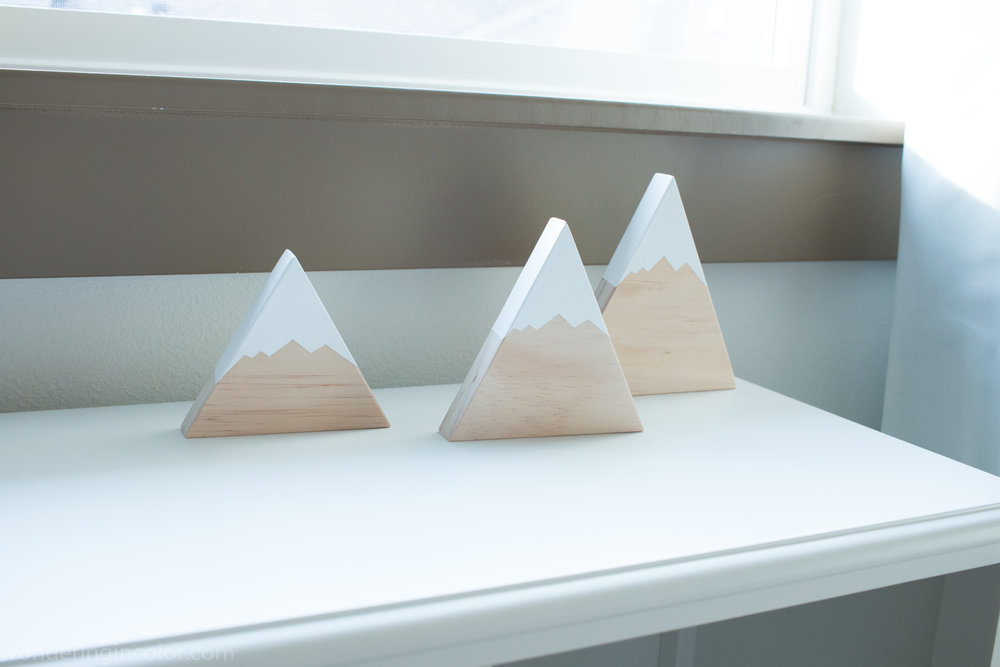 Pacific Northwest Themed Nursery mountains