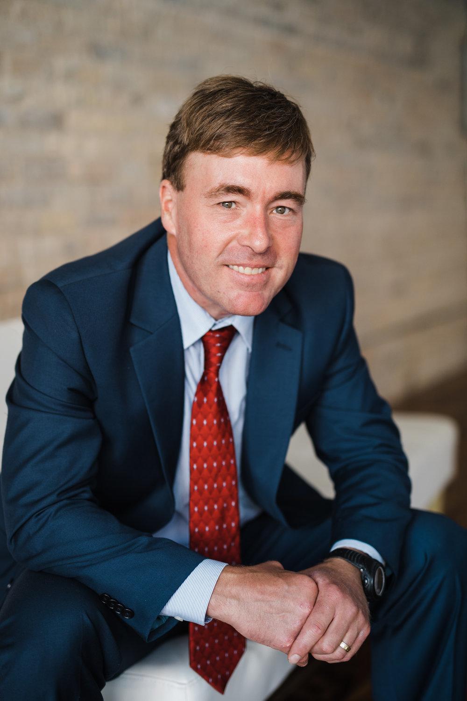 Ben Schierer, Fergus Falls, MN Mayor   Business Portrait