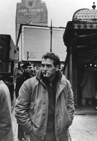 James Dean and Paul Newman sporting the N1 Jacket back in 1955.
