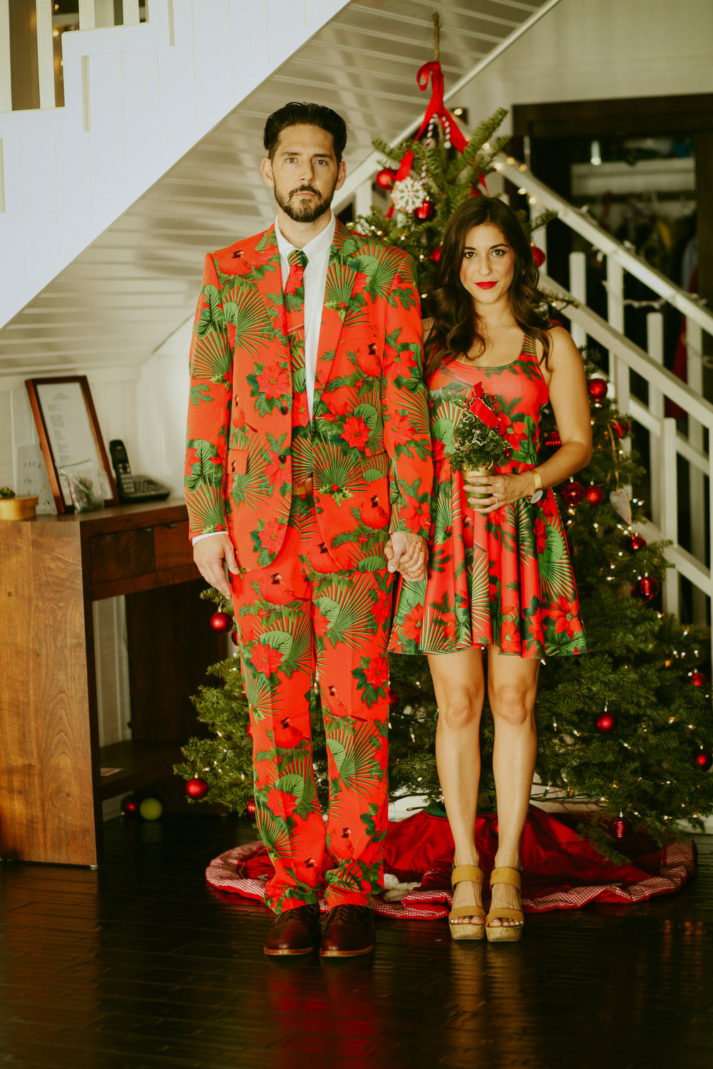 Christmas, Christmas tree, ugly sweater, party, celebrate, Shinesty Threads