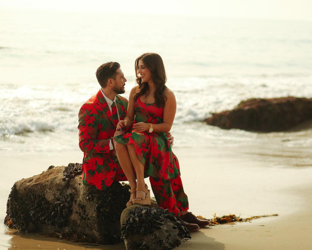 ocean, beach, California Christmas, Christmas outfits