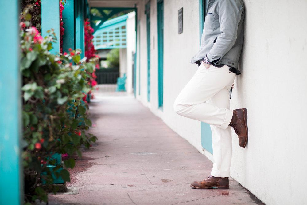 Natural Denim pants