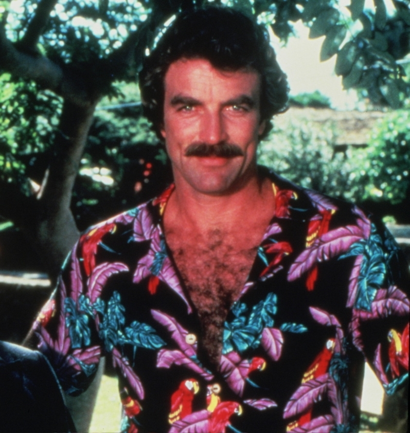 The History of the Aloha Shirt - Magnum PI, by Outlined Cloth
