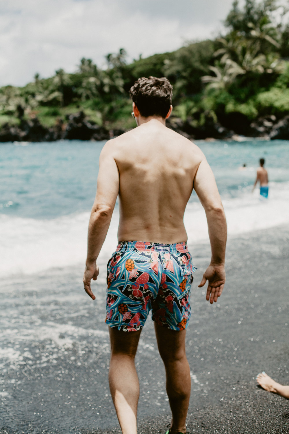 Top 5 Instagram Photos Road to Hana Black Sand Beach