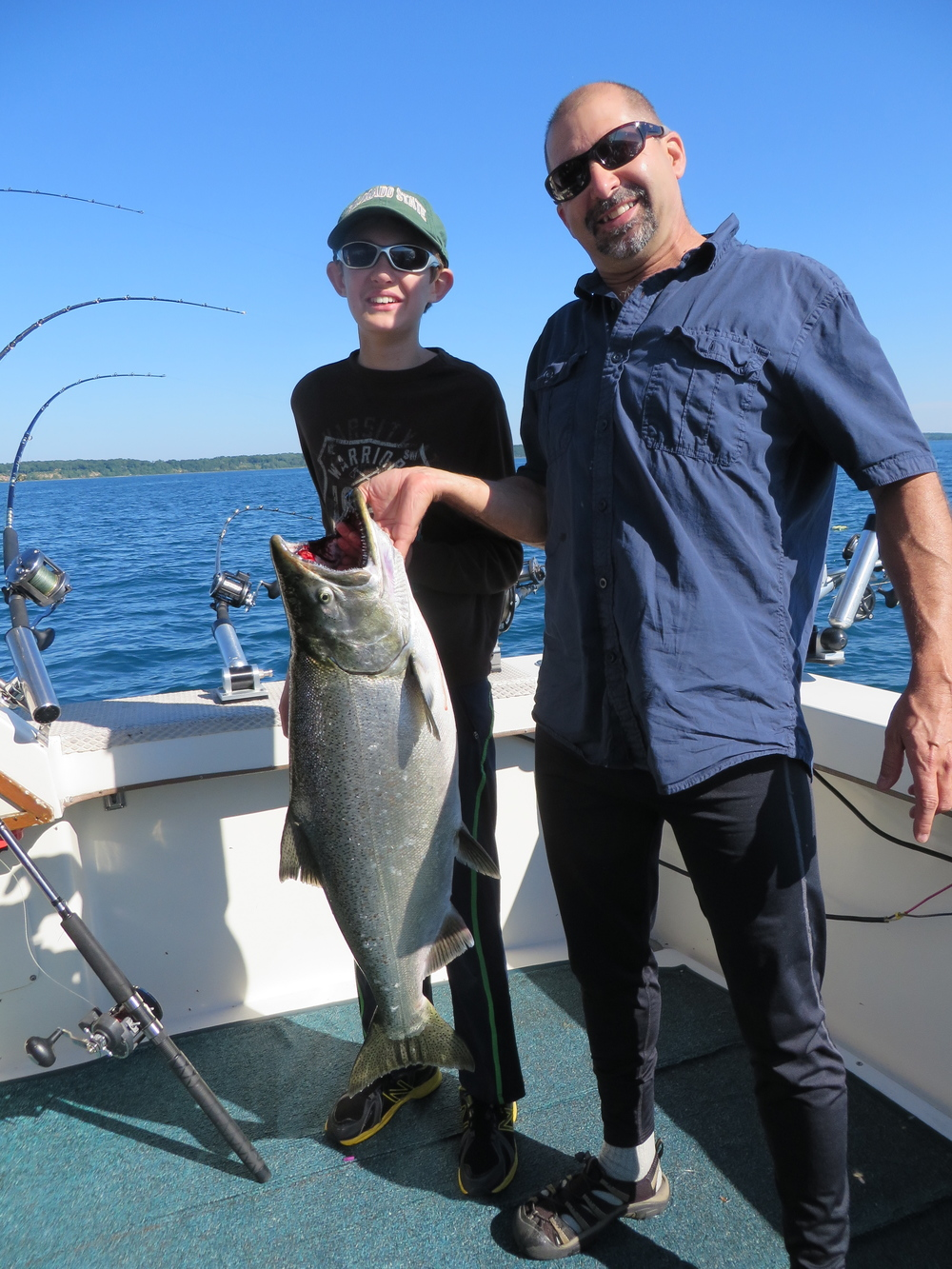 WisconsinLakeMichiganSalmonFishing_PortWashington22