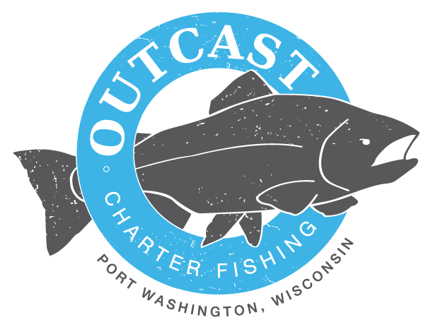 Outcast Charter Fishing | Port Washington Wisconsin Lake Michigan Salmon Fishing Charter