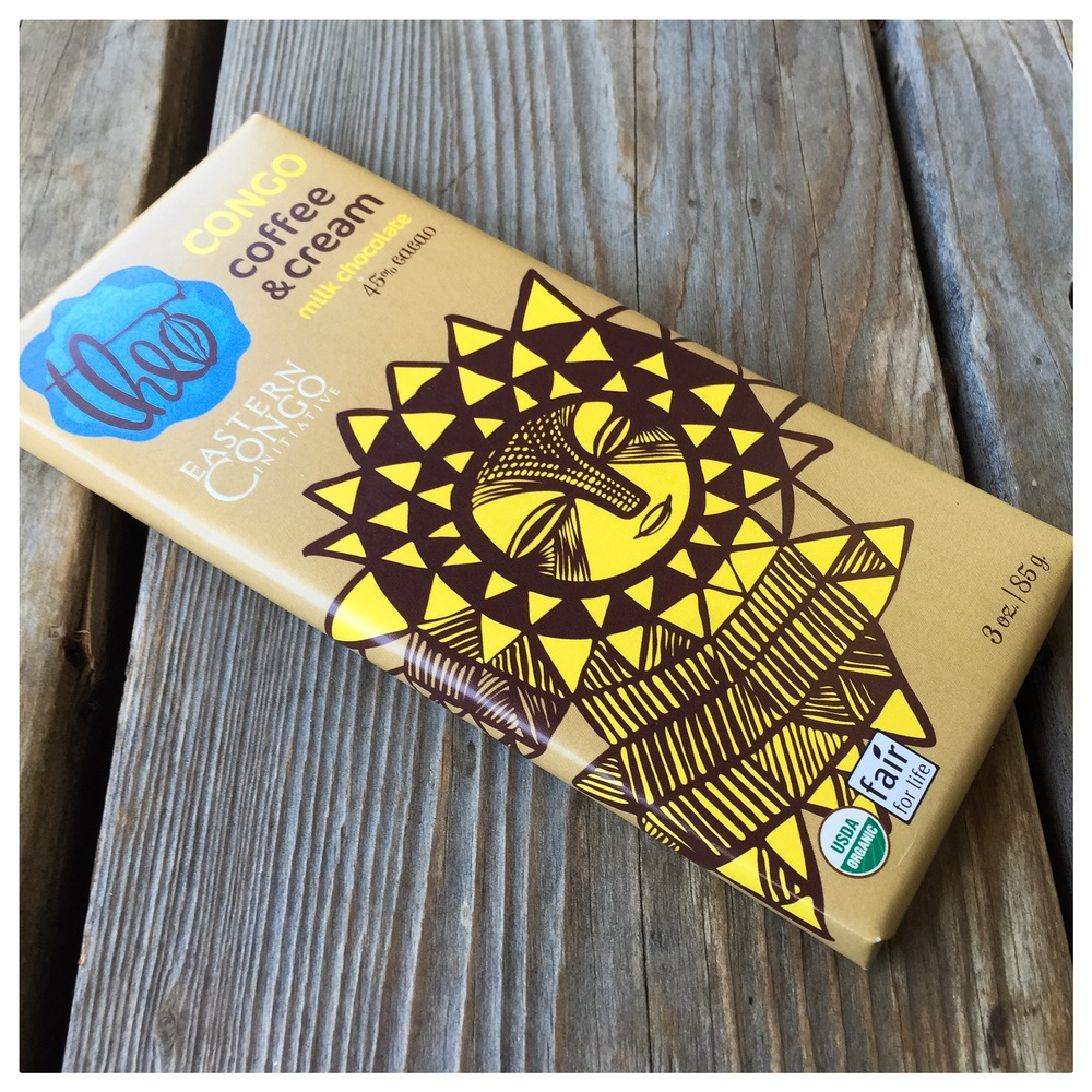 In case you haven't noticed, we're a little obsessed with this Theo Congo coffee and cream milk chocolate. Straight up delicious and benefiting people in Eastern Congo, what's not to love?