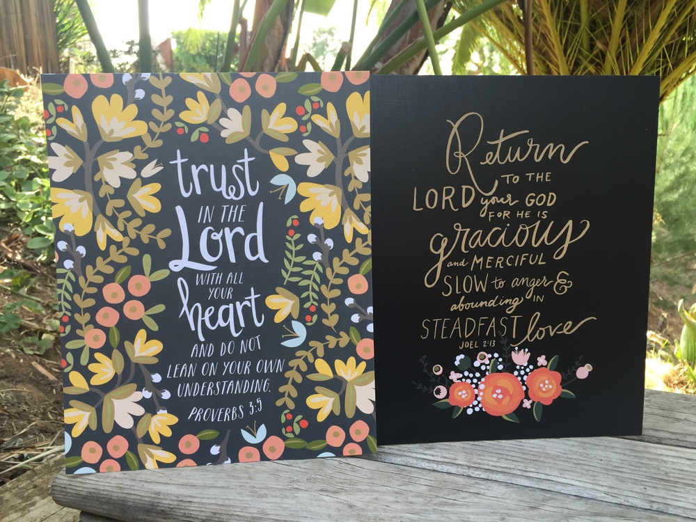 A special gift from our friends at She Reads Truth, these pretty prints are made from archival linen paper. Perfect for framing or gifting!