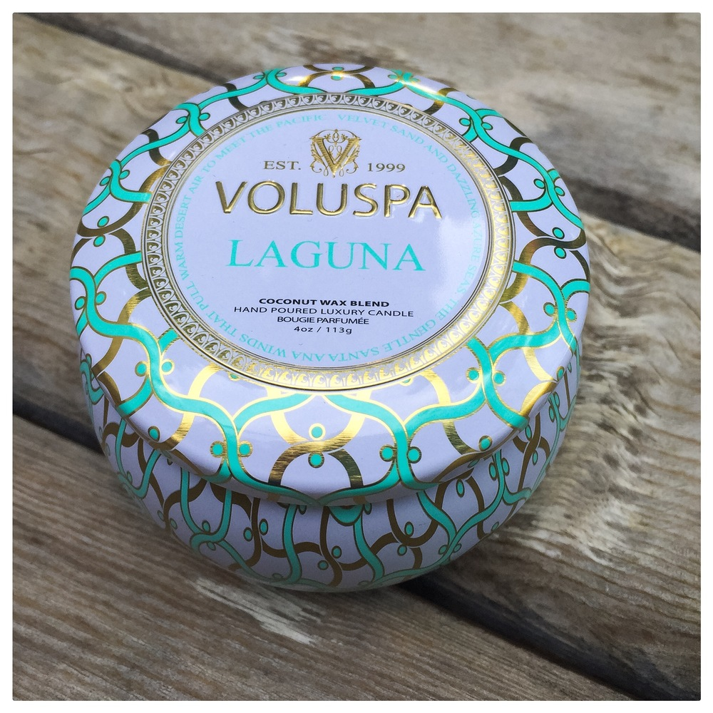 Just another one of our faves, the Laguna Candle from Anthropologie.