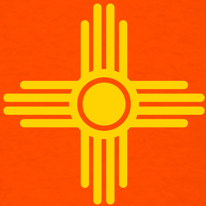 The Zia Pueblo Sun Symbol