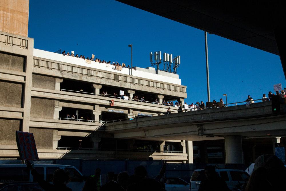 Los Angeles, LAX No Muslim Ban Protest 1.29.17 SYDNEY LOWE-0035.JPG