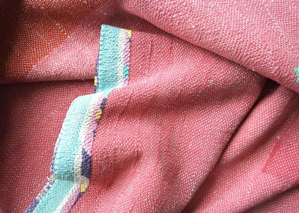 kantha plain stitch