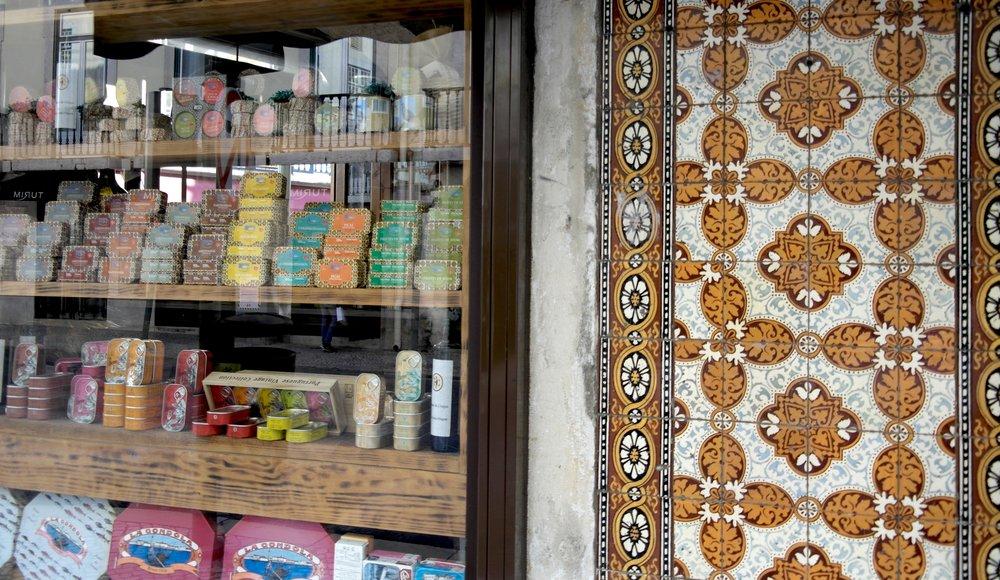 Sardine store in Lisbon