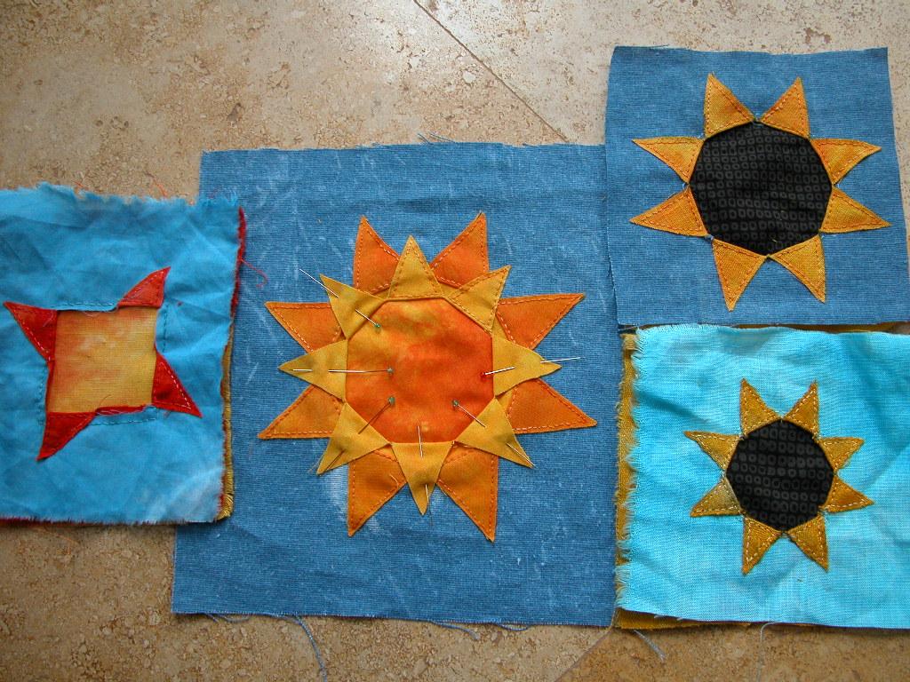 Suns, sunflowers